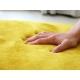 Желтый мягкий ковёр с коротким ворсом JumKids Memory Foam Sun