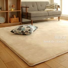 Бежевый ковёр запоминающий форму JumKids Memory Foam Beige